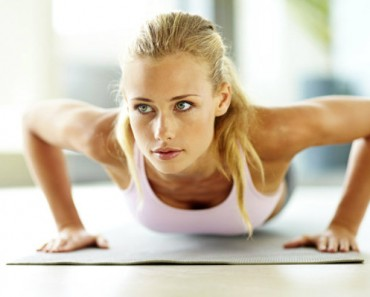 push ups to loose arm fat