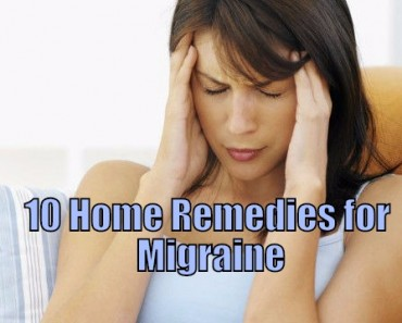 home remdies for migraine