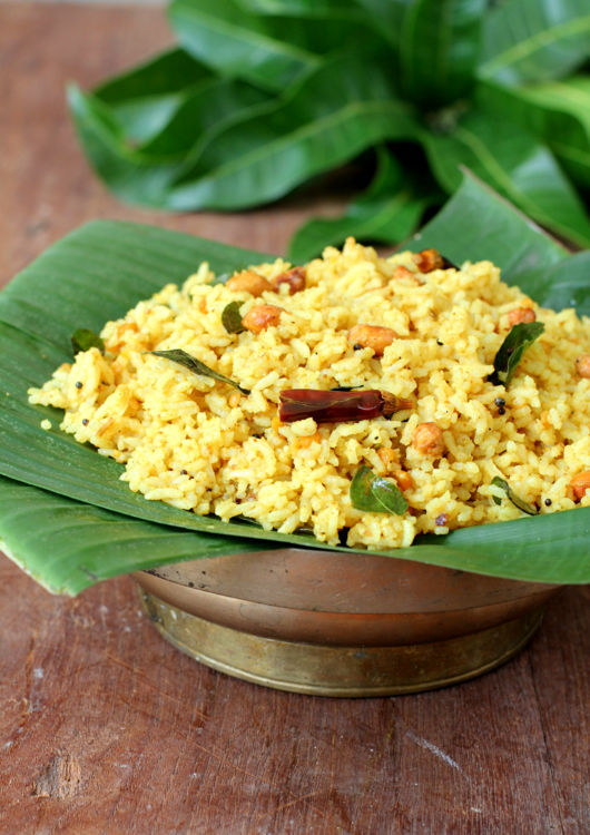 Puliyodharai Recipe / Tamarind Rice Recipe