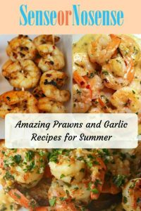 Summer cooking with Prawns and Garlic!