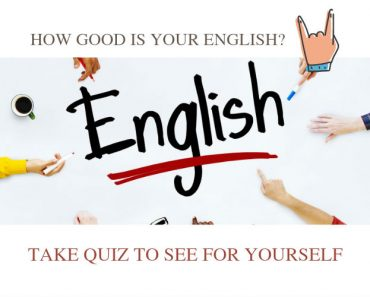 How good is your english
