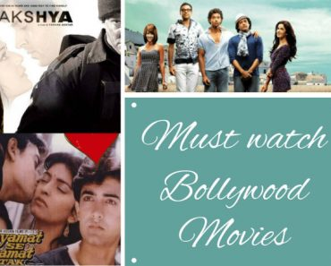 Must watch bollywood movies