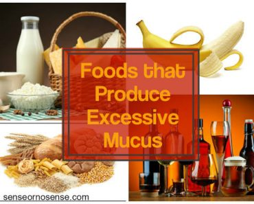 foods that produce excessive mucus