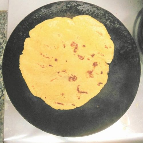 how to make makai ki roti