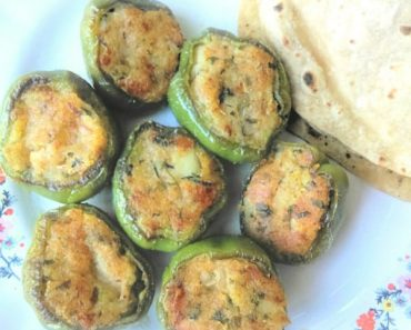 how to make stuffed capsicum