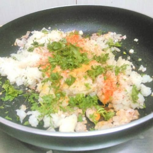 stuffed capsicum masala preparation