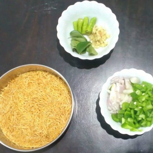Semiya Upma Recipe step by step process