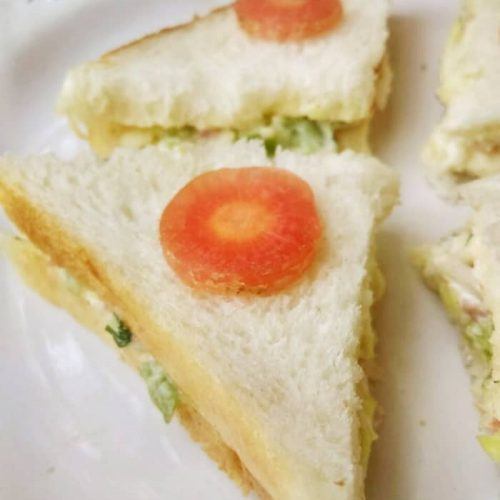 How to make Veg Colesaw Sandwich