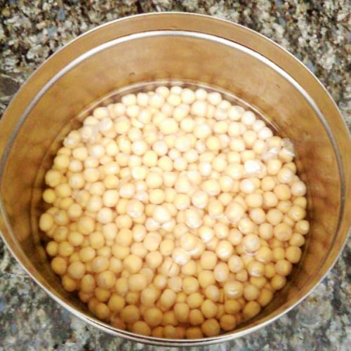 Soak matara for Ragda Pattice