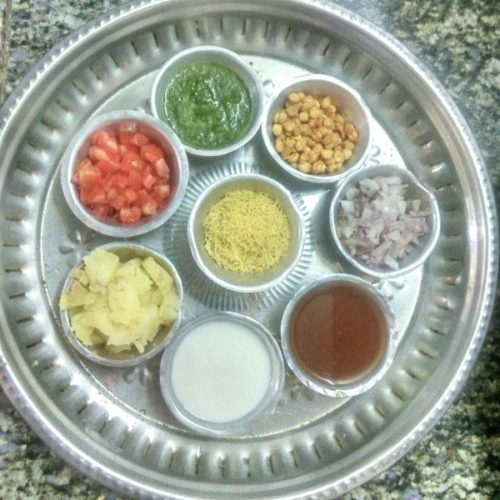 Katori Chaat Ingredients